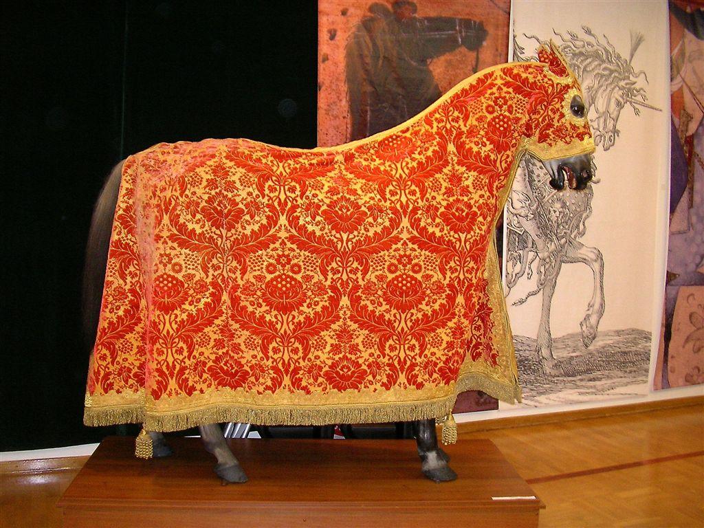 Сшить попону для лошади