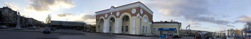 Привокзальная площадь. Евпатория. Февраль 2011