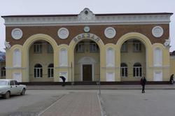 Железнодорожный вокзал города Евпатория