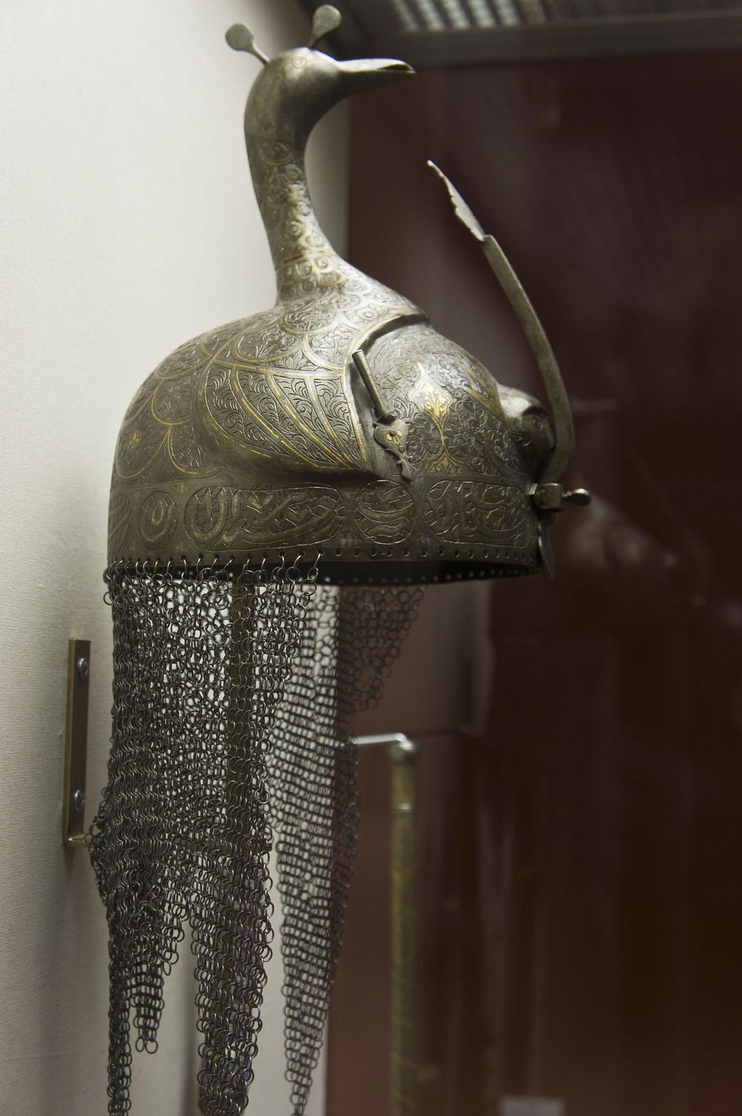 Фото №72015. Шлем. Иран XVIII, сталь, ковка, насечка золотом