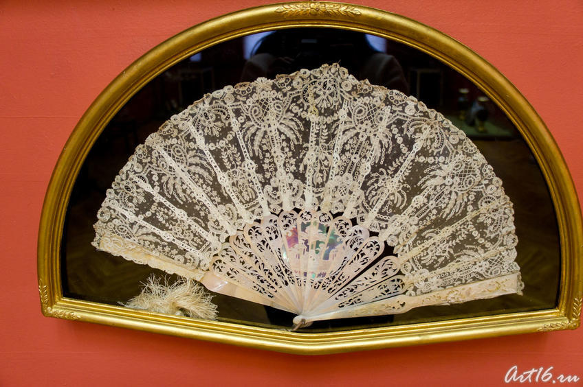 Фото №72541. Веер бальный, кружевной. Кон. XIX . Франция