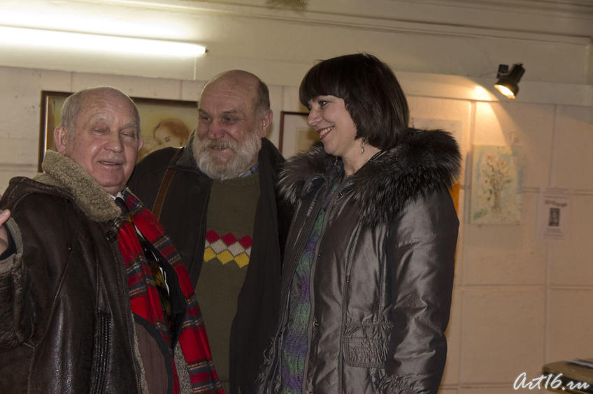Фото №72698. Закир Батраев, Владимир Демченко, Людмила Сибатрова.