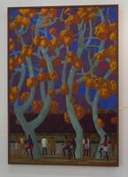 Осень в городе. 2009. Азам Атаханов