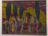 Похороны в Лучобе. 2009. Азам Атаханов