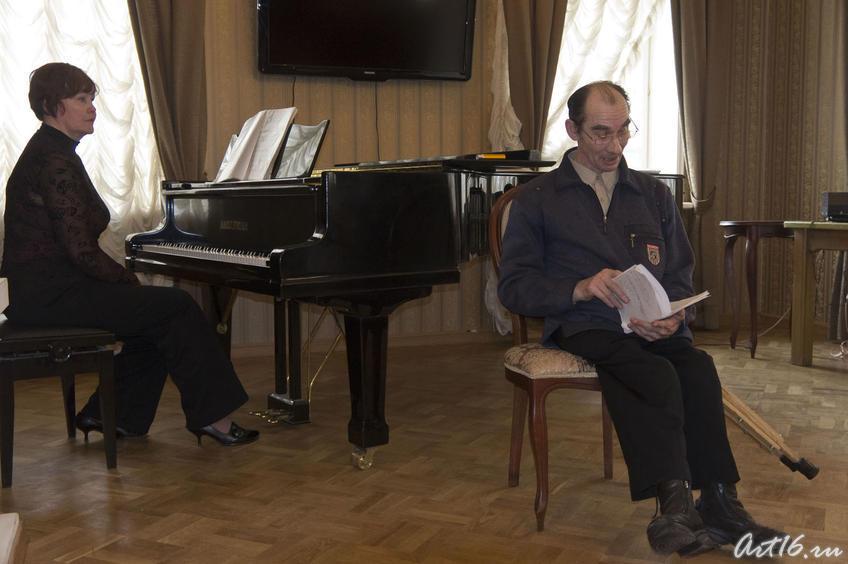 Фото №72983. Дамир Хайруллин (стихи), Аида Вайдич (аккомпанемент)