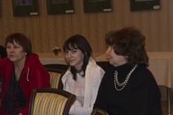 На вечере в Доме Аксенова