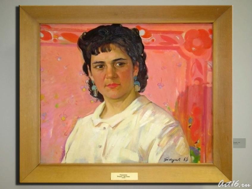 Портрет Рушан Якуповой. 1965