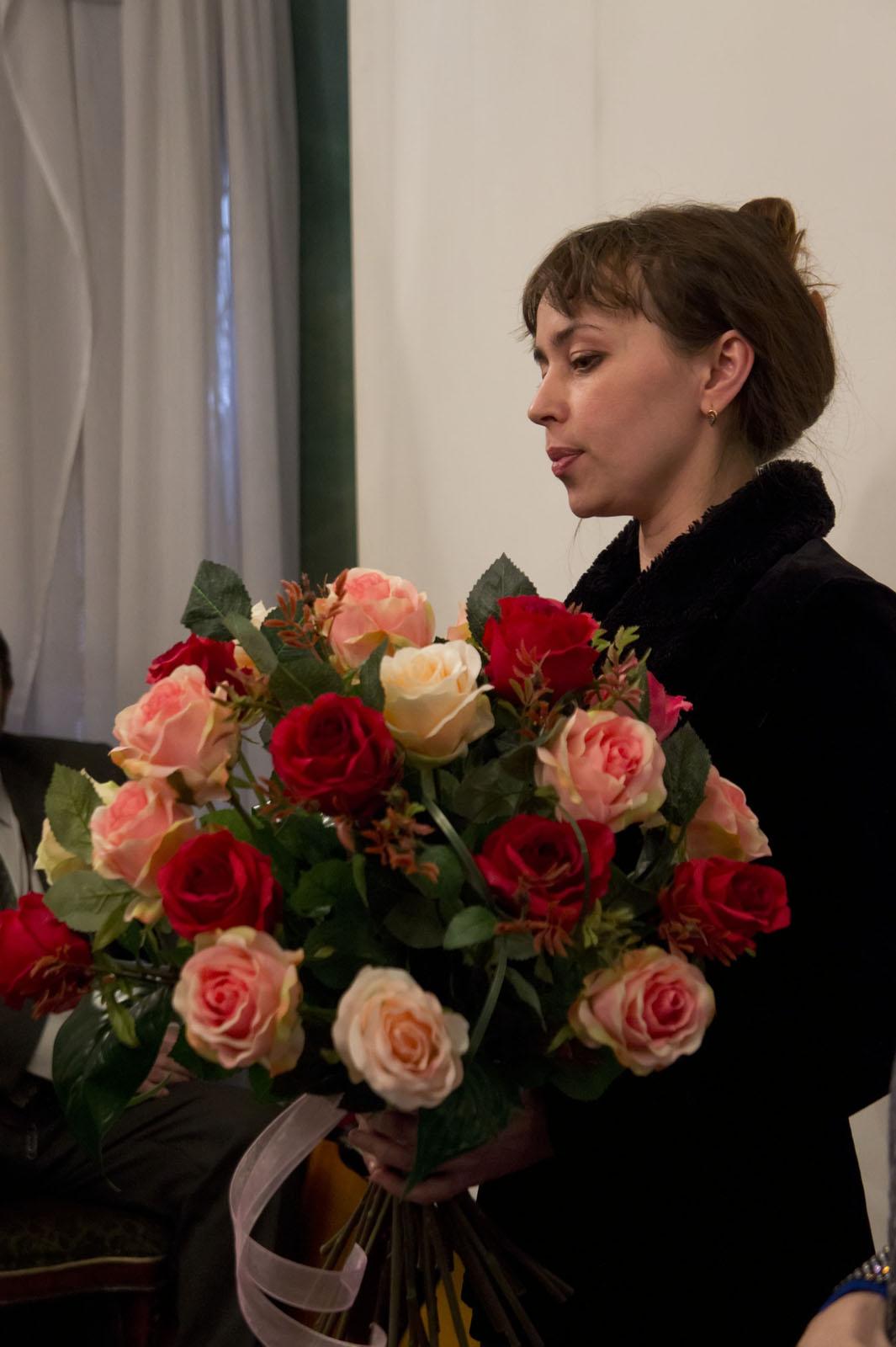 Фото №73603. Алсу Биктимерова, флорист, музыкант