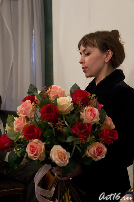 "Алсу Биктимерова, флорист, музыкант::""Галактика любви"". 100-летие Вероники Тушновой (1911 - 1965)"