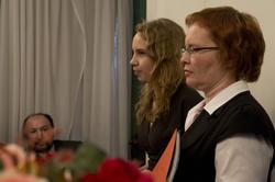 Александра Фомина (Степанова), Светлана Фомина (преподаватель русского языка гимназии  №12)