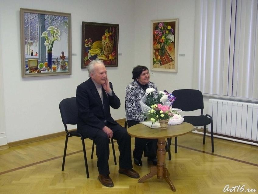 Х. Якупов и Р. Якупова