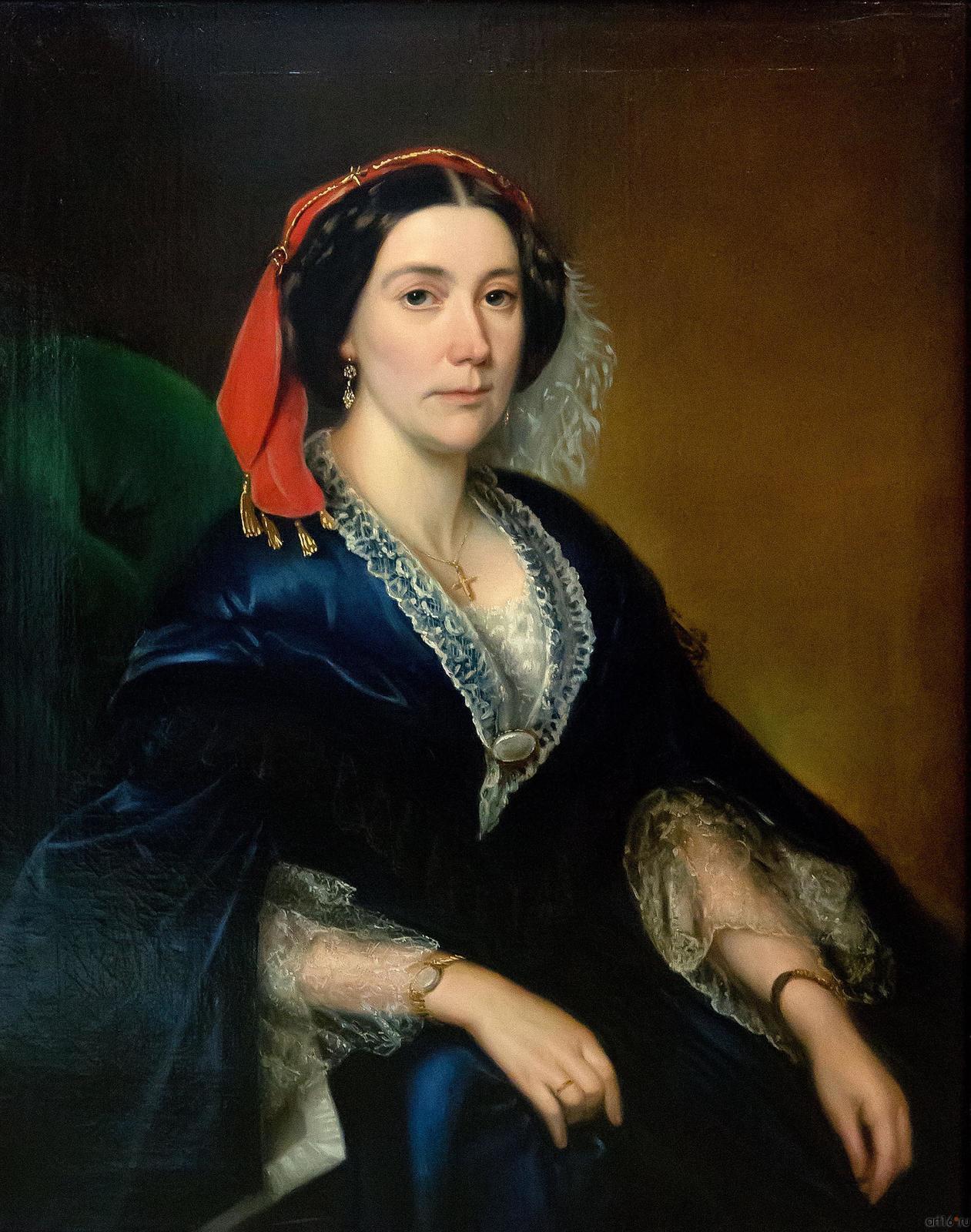 Фото №739287.  Женский портрет. Середина 1850-х годов