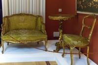 Комлект мебели: Стол, стул, софа