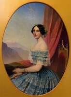 Портрет неизвестной. Тимофей Андреевич Нефф 1804—1876. х.м.