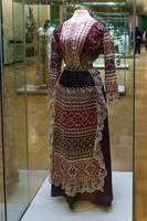 Женский городской костюм в «народном» стиле: кофта, передник Санкт-Петербург (?) Конец XIX - начало XX века
