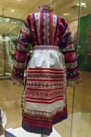 Юбка, вышитая «в русском стиле» Россия 1900-е годы