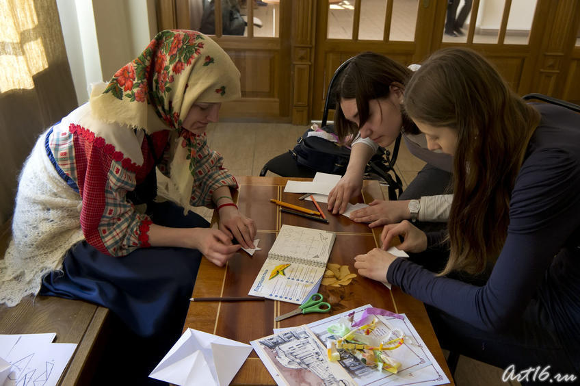 Изготовление оригами