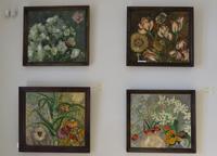 Фрагмент экспозиции (Миля Нуруллина, 1997, 1999)