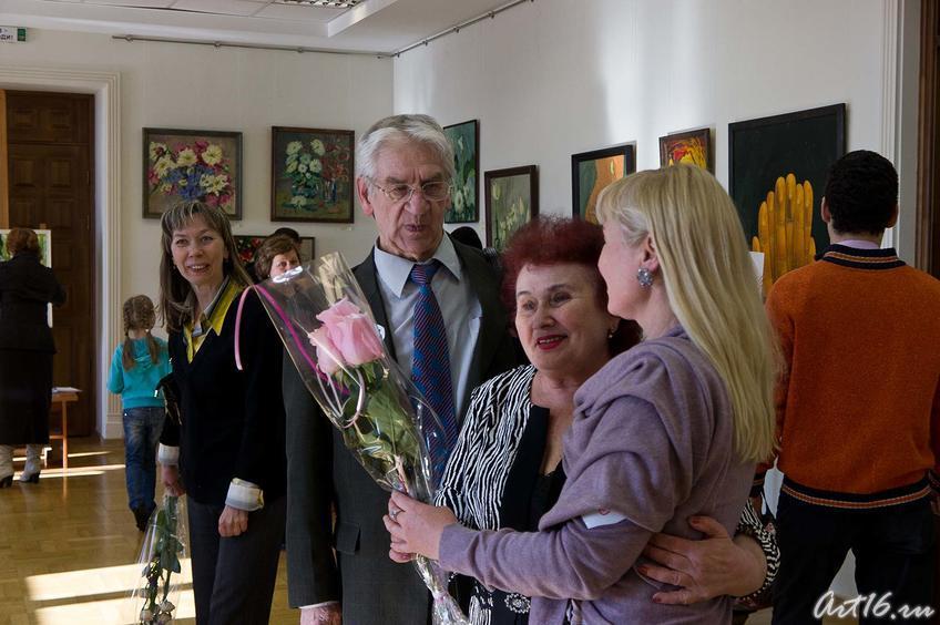 Фото №74097. Миля Нуруллина принимает поздравления