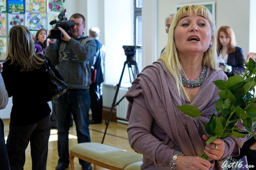 Миля Нуруллина, художник::Миля Нуруллина. Юбилейная выставка-2011