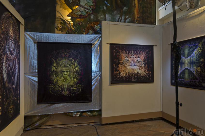 Фото №74261. Фрагмент экспозиции выставки ''Двери''