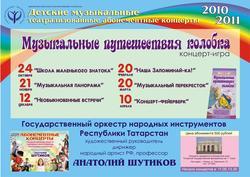 Татгосфилармония, афишы на апрель 2011