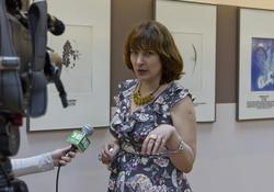 Наталья Зюмченко, Зав. выставочным залом КК «Манеж»