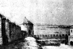 Юго-западная башня Казанского Кремля.