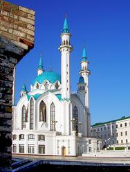 Фотолетопись строительства мечети Кул ШАРИФ