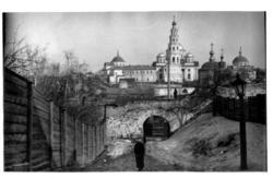 Вид на Богородицкий монастырь со стороны Кремля