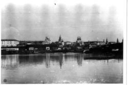 Панорама Казанского кремля со стороны р.Казанка