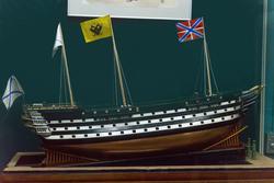 Модель корабля 120-пушечного ранга ''Великий князь Константин'' (1852)