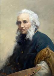 Пен Сергей Варленович. 1952 г. р. Портрет Ивана Константиновича Айвазовского. 2010