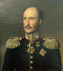 Неизвестный художник Портрет графа, адмирала Федора Петровича Литке