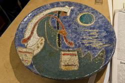 Декоративная тарелка. Работа Л.Л.Сперанской