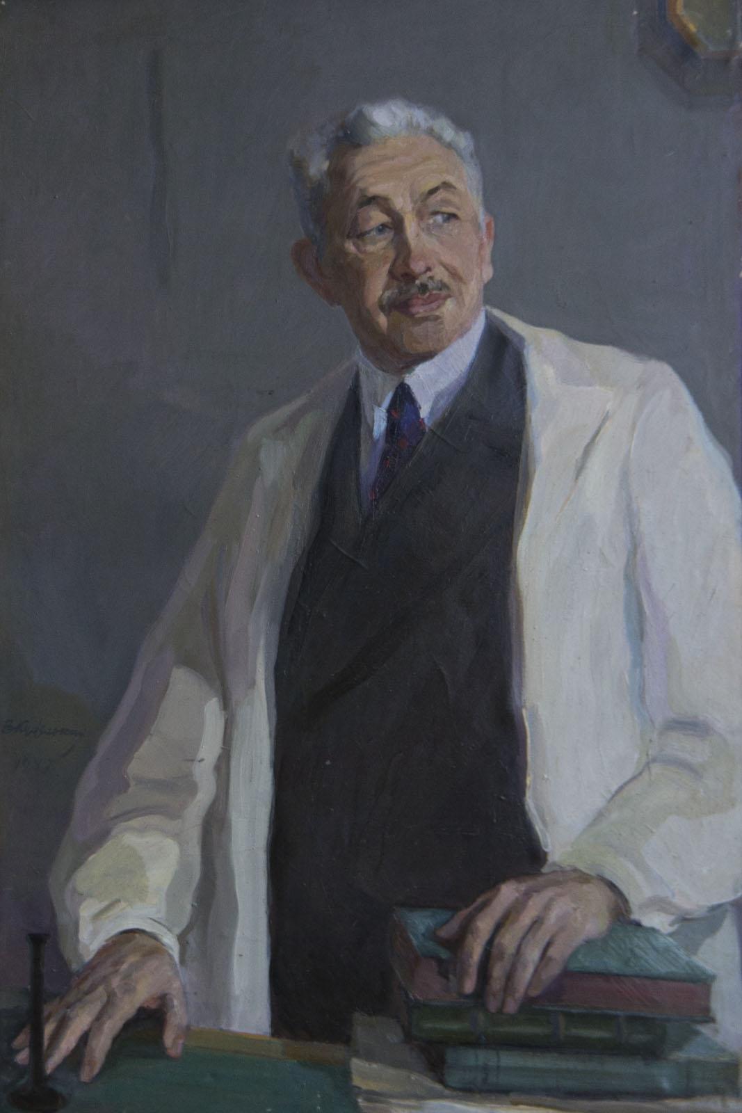 Фото №75731. Портрет Терегулова, 1946-1948, холст, масло