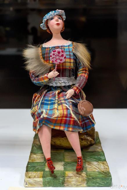 ОЛУДИНА ЛЮДМИЛА ГЕННАДЬЕВНА. В ПАРИЖЕ Авторская кукла::ХУДОЖНИК. КУКЛЫ. ДЕТИ