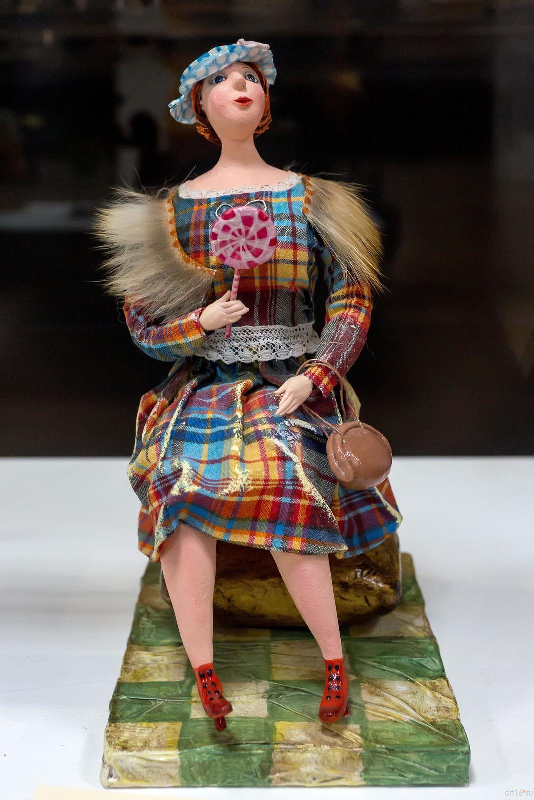 Фото №759279. ОЛУДИНА ЛЮДМИЛА ГЕННАДЬЕВНА. В ПАРИЖЕ Авторская кукла