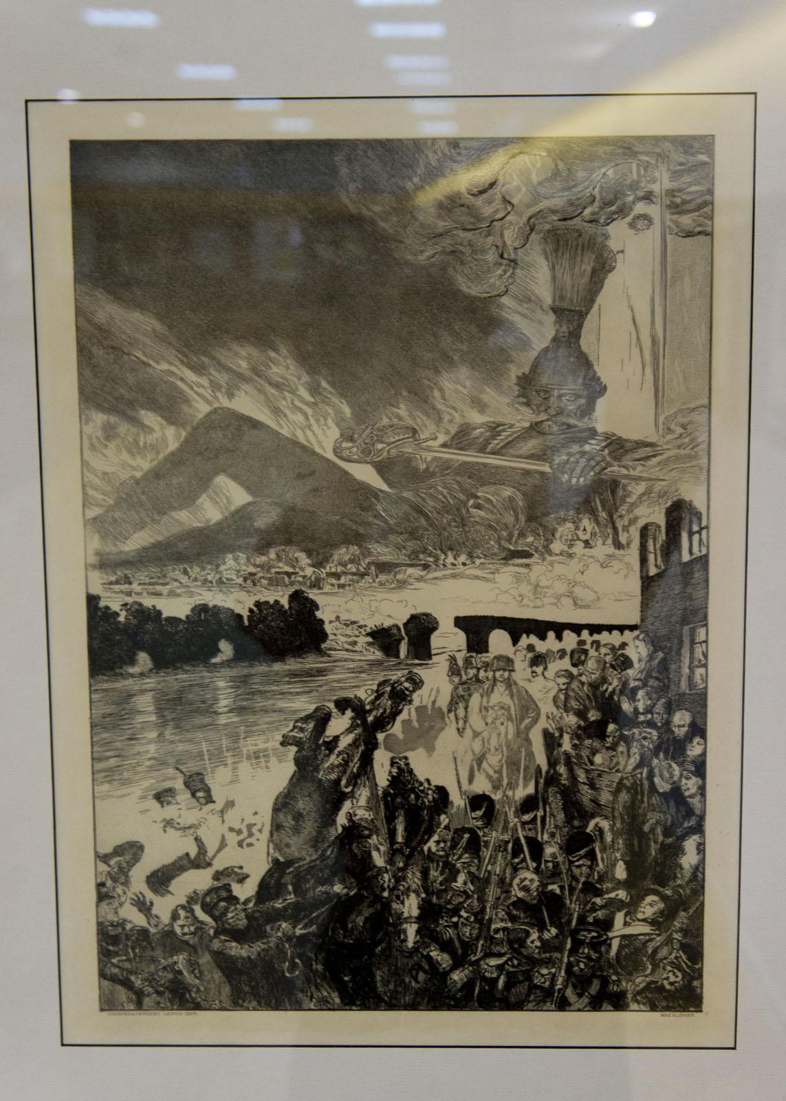 Фото №76472. Бегство Наполеона. 1903, Макс Клингер (1857-1920)