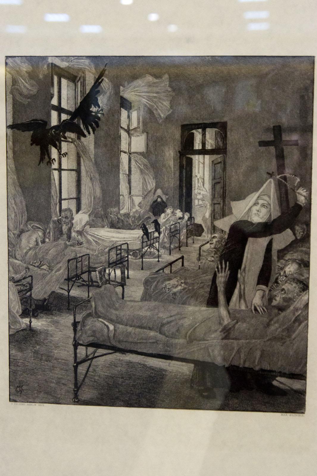 Фото №76482. Чума. 1903, Макс Клингер (1857-1920)