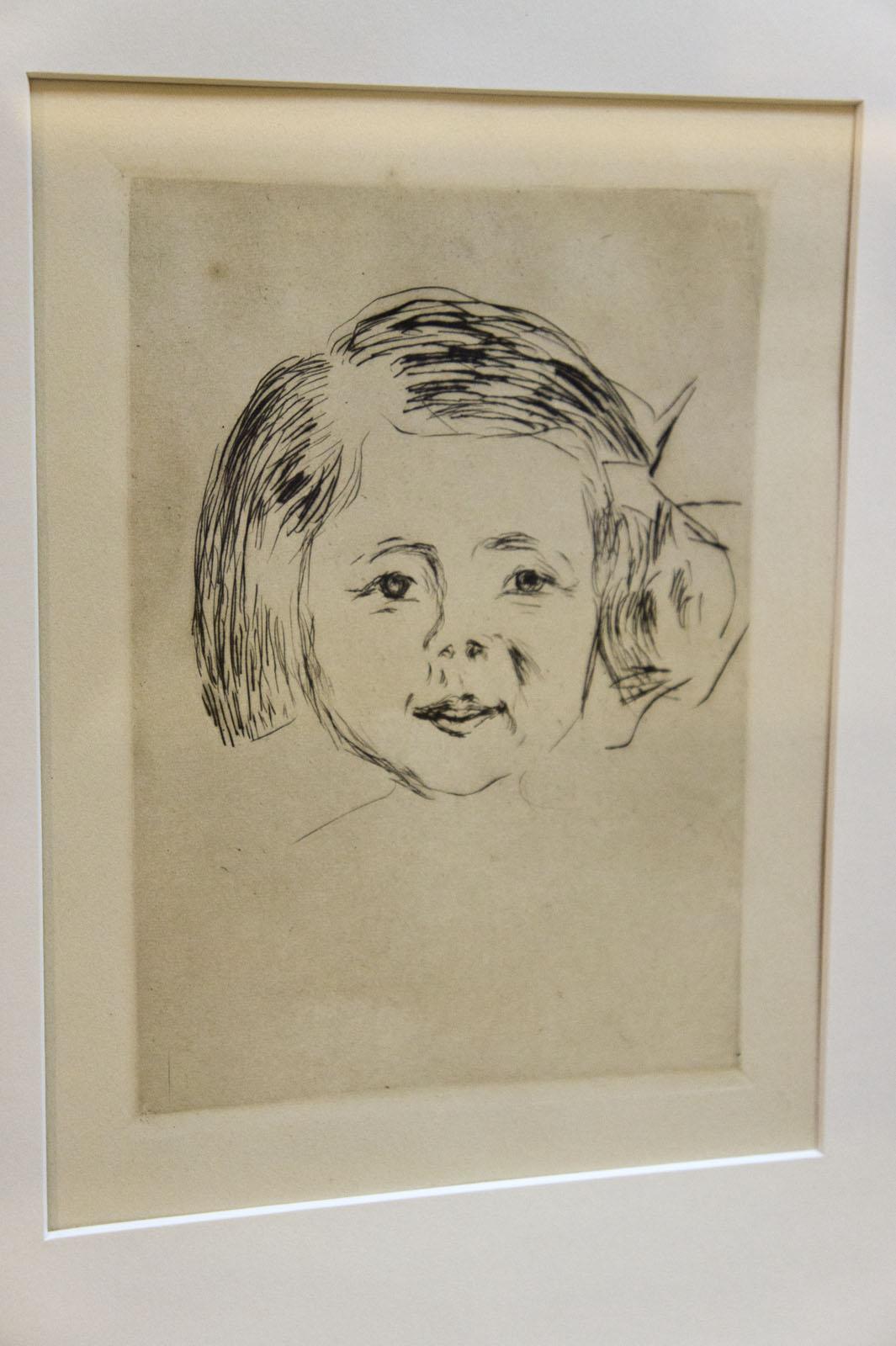 Фото №76492. Детская голова. 1908, Эдвард Мунк (1863-1944)