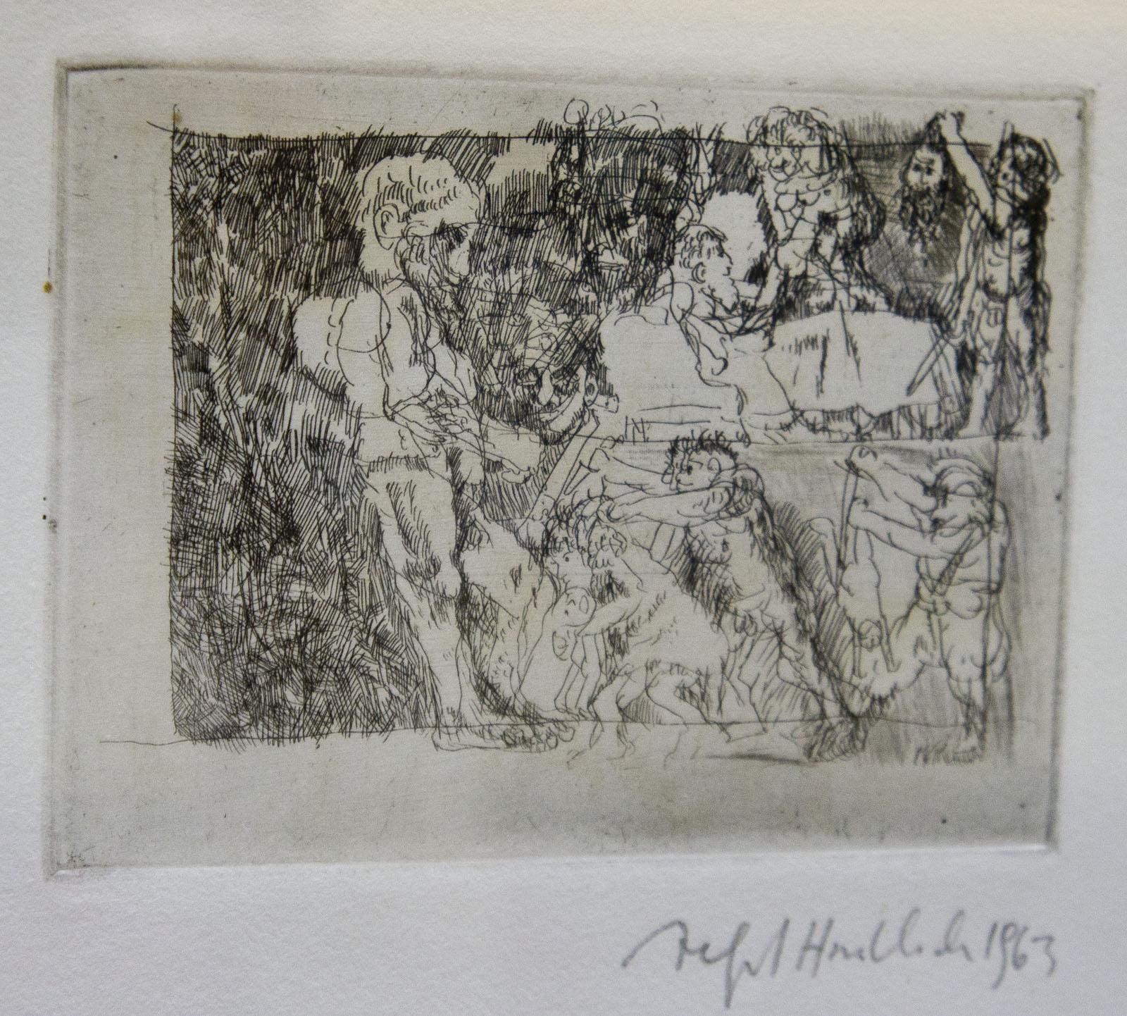 Фото №76562. Избиение младенцев в Вифлиеме. 1963. Альфред Хрдличка (1928-2009)
