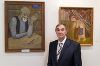 Открытие юбилейной выставки Р.А. Кильдибекова