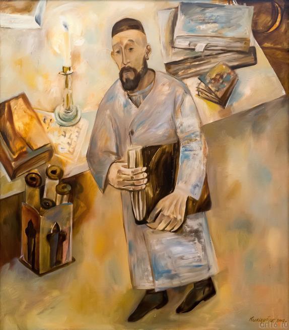 КИЛЬДИБЕКОВ Р.А. 1934 АРХИВАРИУС .2008::Открытие юбилейной выставки Р.А. Кильдибекова
