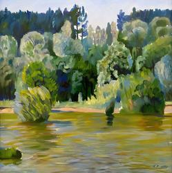 Кильдебеков Р.А 1934 ЛЕТО НА ИЛЕТЕ, 1997