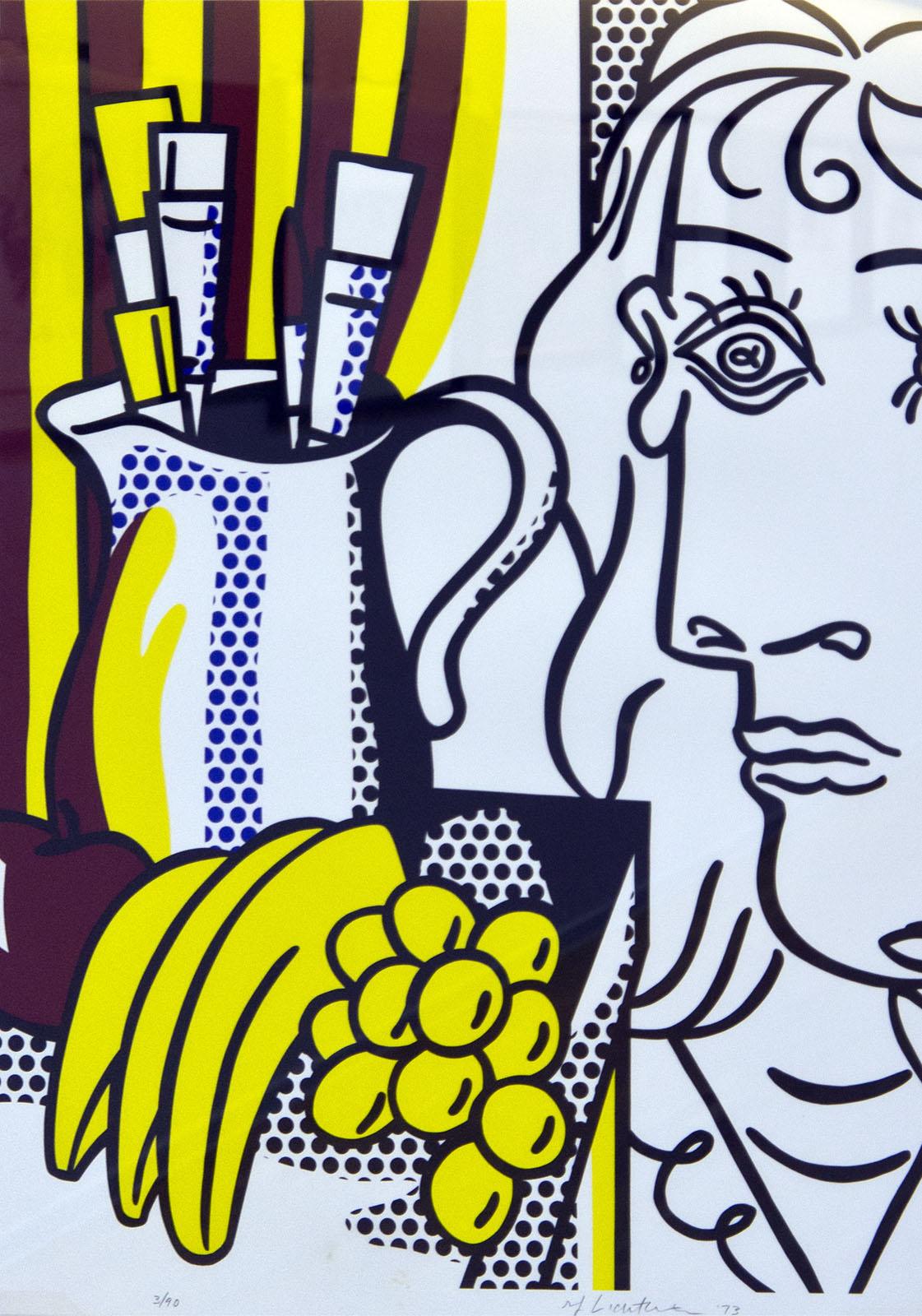 Фото №76642. Натюрморт с Пикассо. 1973. Рой Лихтенштейн (1923-1997)
