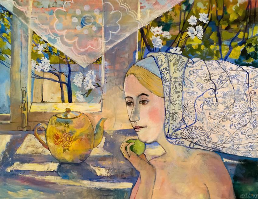 Жасмин. О.Сушкова::Полдень. Выставка Ольги Сушковой и Светланы Зайцевой