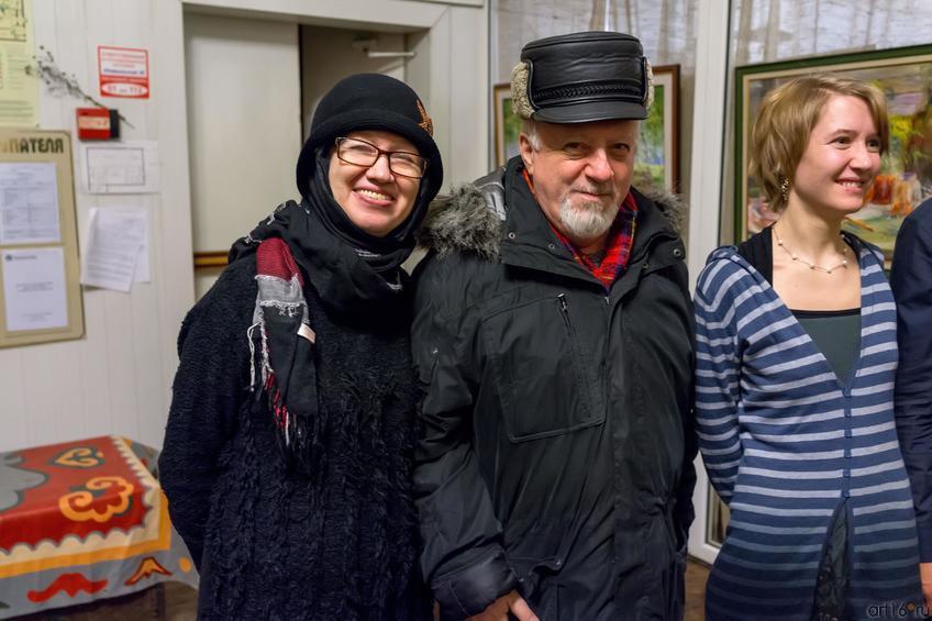 Ахунова, Вайнер, Сушкова::Полдень. Выставка Ольги Сушковой и Светланы Зайцевой