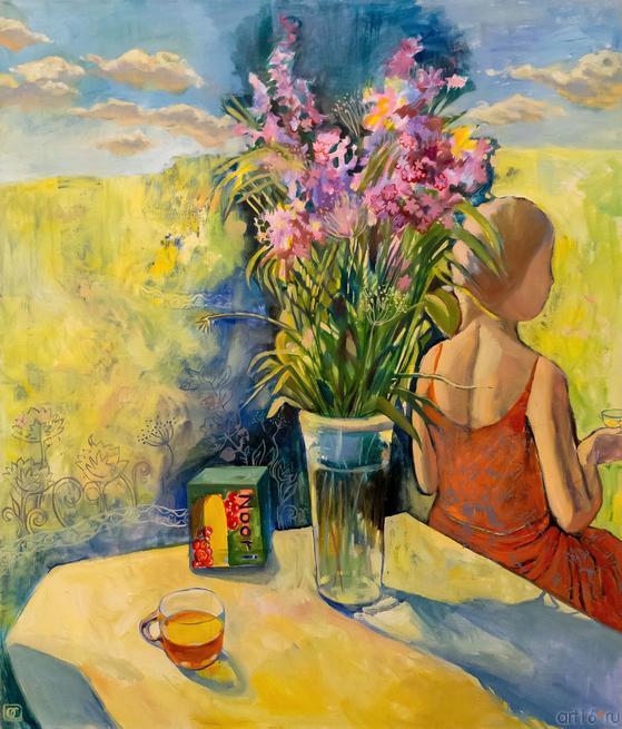 Иван-чай. О.Сушкова::Полдень. Выставка Ольги Сушковой и Светланы Зайцевой