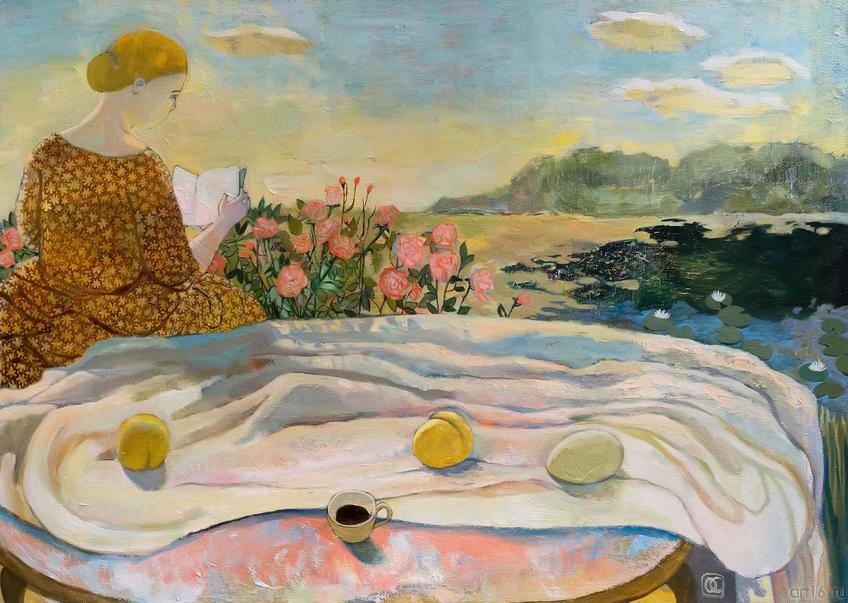 У озера. О.Сушкова::Полдень. Выставка Ольги Сушковой и Светланы Зайцевой